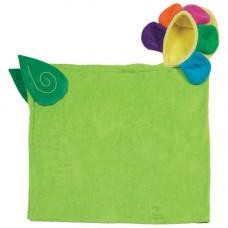 Полотенце с капюшоном для детей Цветок Флора